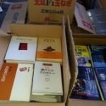 歴史関係の単行本やハウトゥー本などお譲り頂きました。