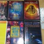 音楽DVDや洋画のDVDをお譲り頂きました。