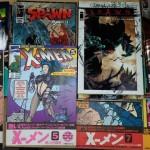 X-MENなどのアメコミ、他漫画全巻セットをお譲り頂きました。