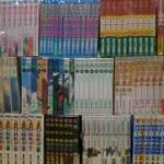 漫画全巻セットやアニメ関係雑誌をお譲り頂きました