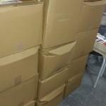 楽譜や音楽関連単行本、楽器などを12箱分宅配買取にてお譲り頂きました。