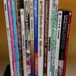 漫画やアニメ・ゲーム画集、ゲームソフトなど約400冊をお譲り頂きました。