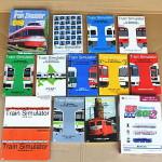電車でGOやトレインシュミレーターなどの鉄道ゲームを多数お譲り頂きました。