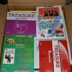 大学入試関連の赤本、学習参考書、学習CDなどを多数お譲り頂きました。