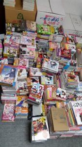 漫画セット、ライトノベルセットを約1500冊