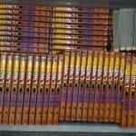 漫画全巻セットの名探偵コナンやアカギを200冊弱お譲り頂きました。