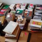 建築専門書や建築雑誌を多数お譲り頂きました。