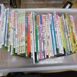 絵本約200冊、その他人気ゲームソフトなどをお譲り頂きました