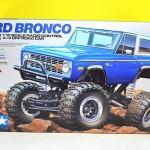 1/10 電動RC4*4 CR-01 フォードブロンコ 1973