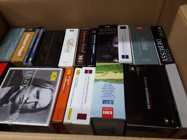 各種クラシックCDボックス