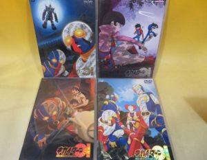 「キカイダー THE ANIMATION」などアニメ・特撮DVDや特撮本をお譲り頂きました。