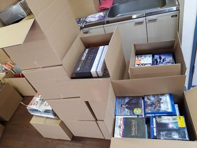 大魔神などのDVD、Blu-ray他、ゲーム、イラスト画集、超合金など約1000点をお譲り頂きました。