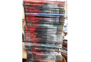 別冊グランドパワーやミリタリー写真集など約300冊をお譲り頂きました。