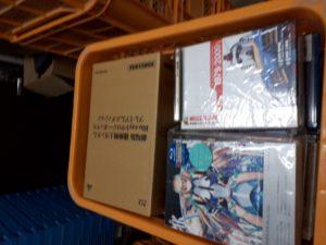 ガンダムやマクロスなどアニメDVD、Blu-rayを約200点お譲り頂きました。