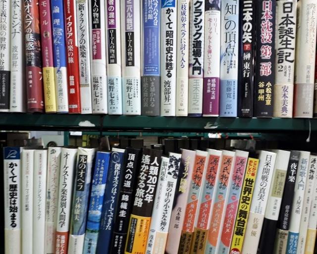ビジネス書や音楽の本など様々なジャンル約1500冊をお譲り頂きました。