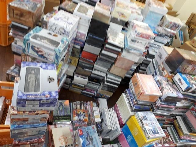 「ヒカルの碁」などアニメDVD約2,000点を出張で買い取りさせて頂きました。